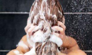 Применение шампуни